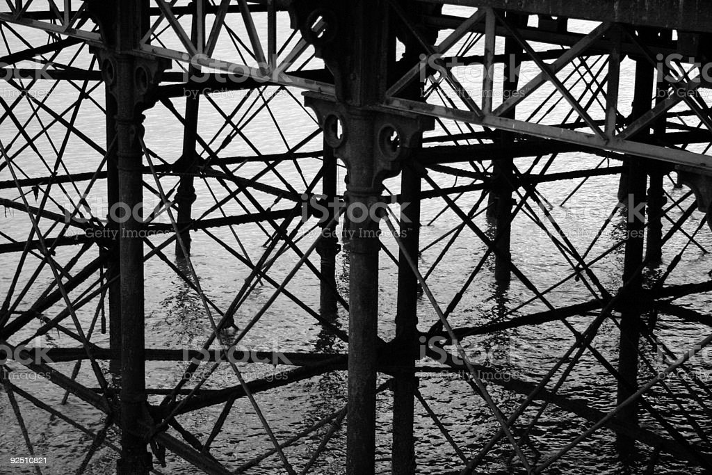 Blackpool Seaside Town royalty-free stock photo