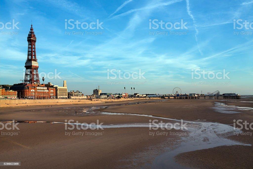 Blackpool Tower - Blackpool - England stock photo