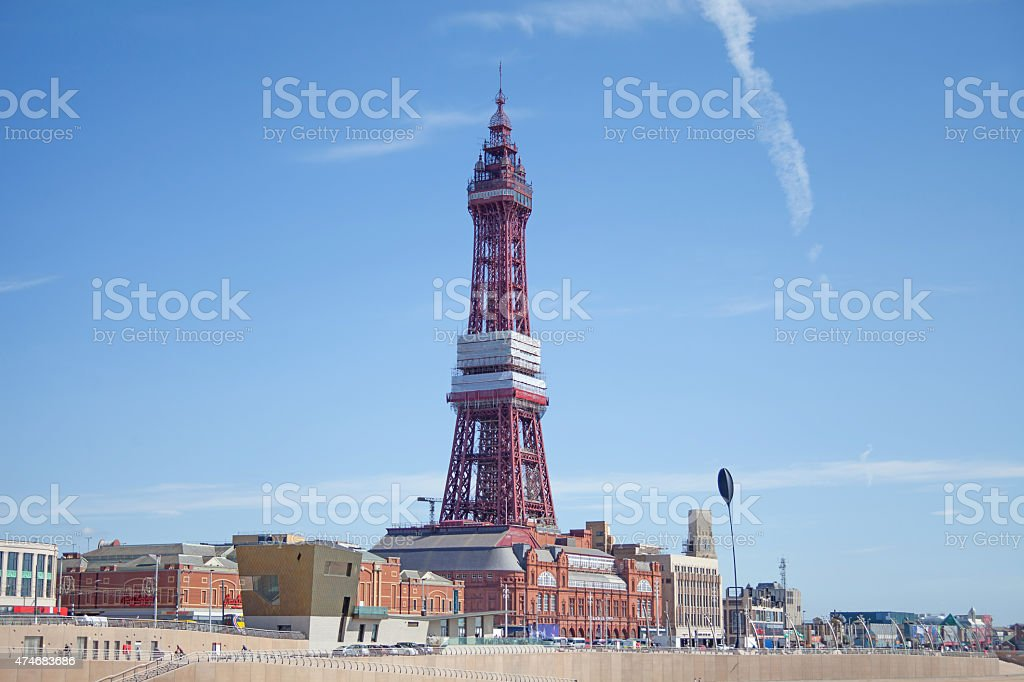 Blackpool Tower, Lancashire stock photo