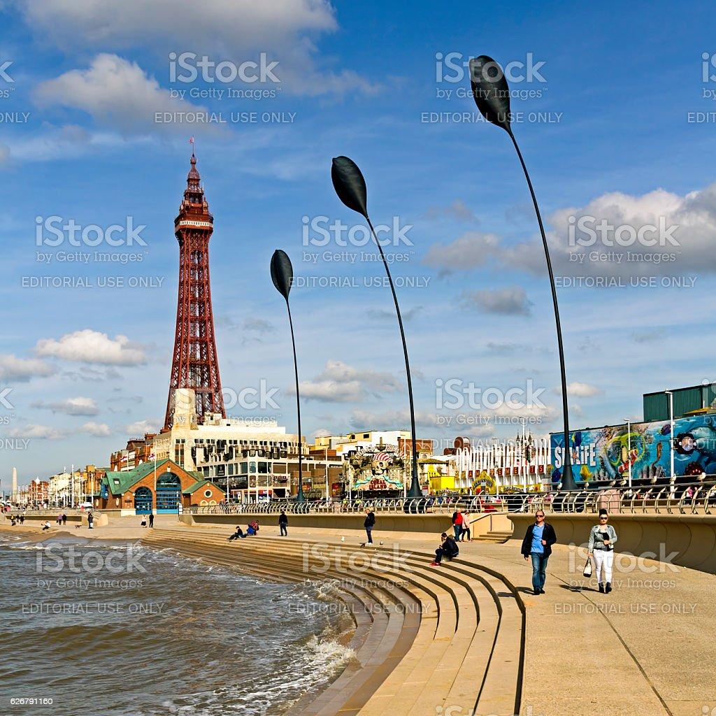 Blackpool Tower stock photo