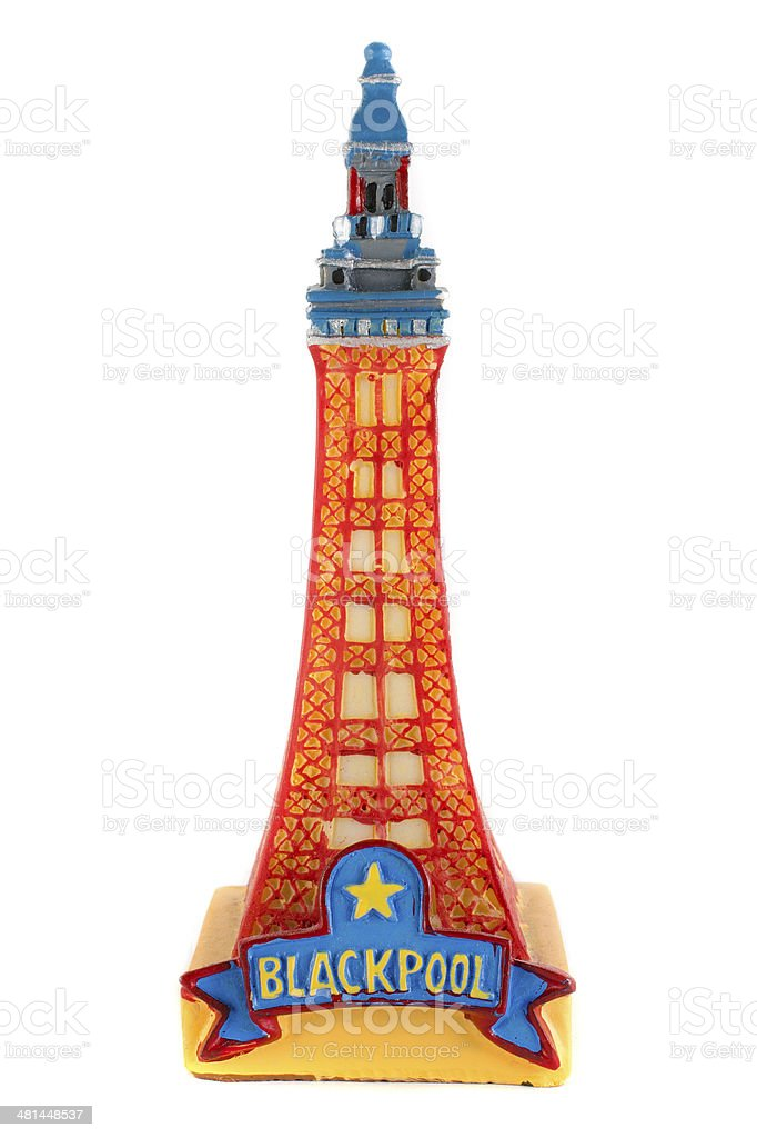 Blackpool Tower Souvenir stock photo