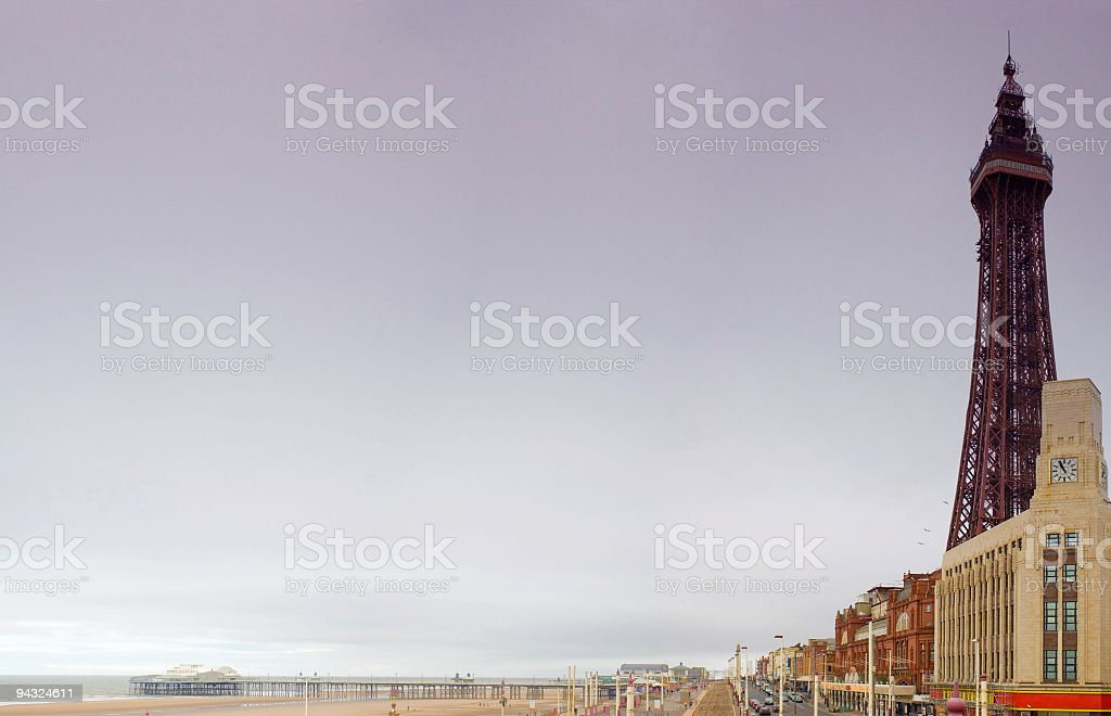 Blackpool Tower, UK stock photo