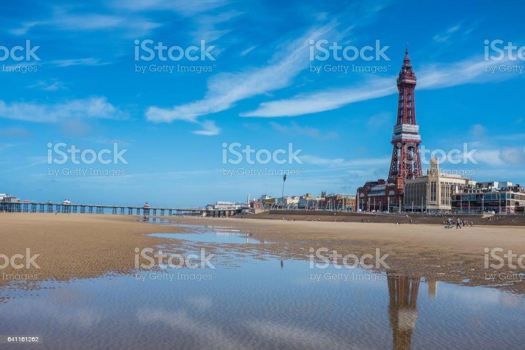 Blackpool UK stock photo