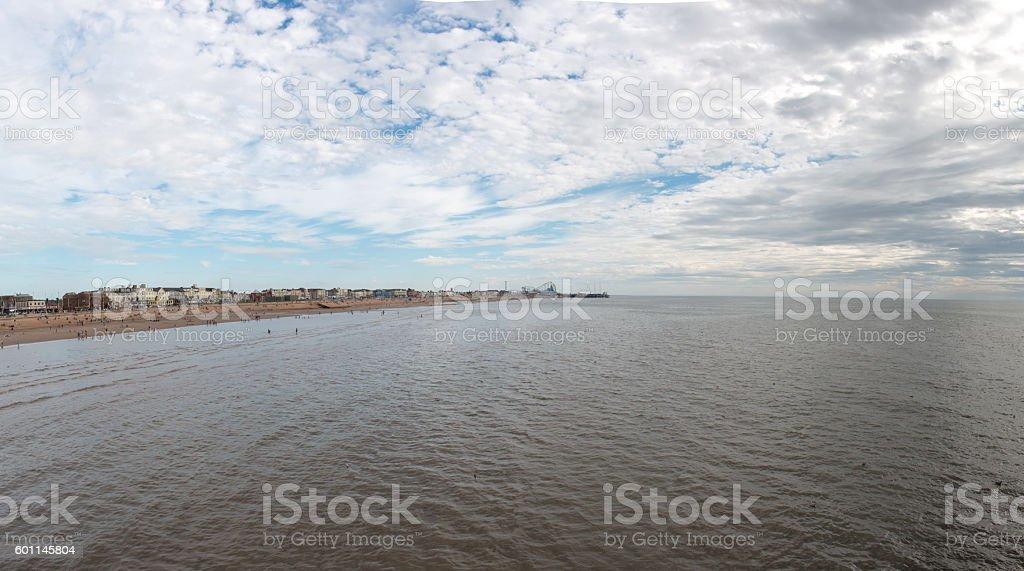 Blackpool Waterfront stock photo