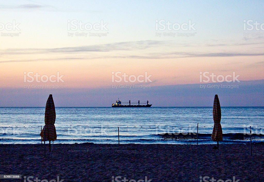 Blacksea Bartın Amasra stock photo