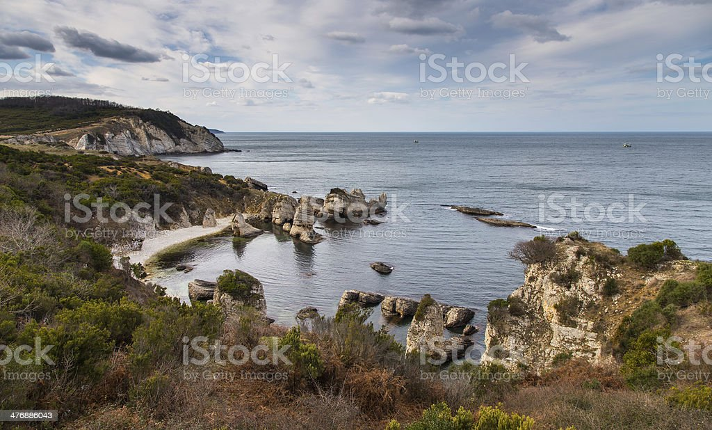 Blacksea Coast of Turkey stock photo