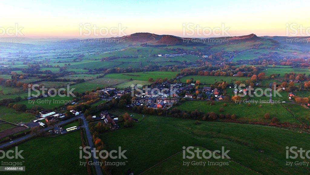 Blackshaw Moor stock photo