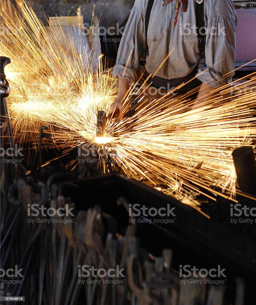 Blacksmith royalty-free stock photo