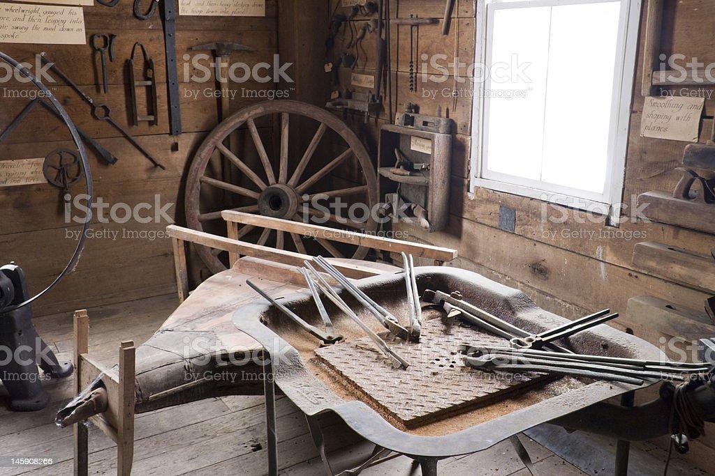 Blacksmith shop royalty-free stock photo