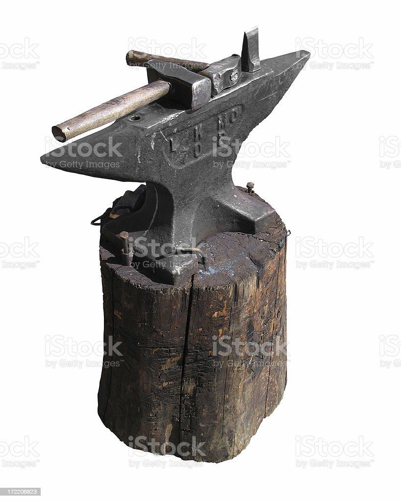 blacksmiths tools royalty-free stock photo