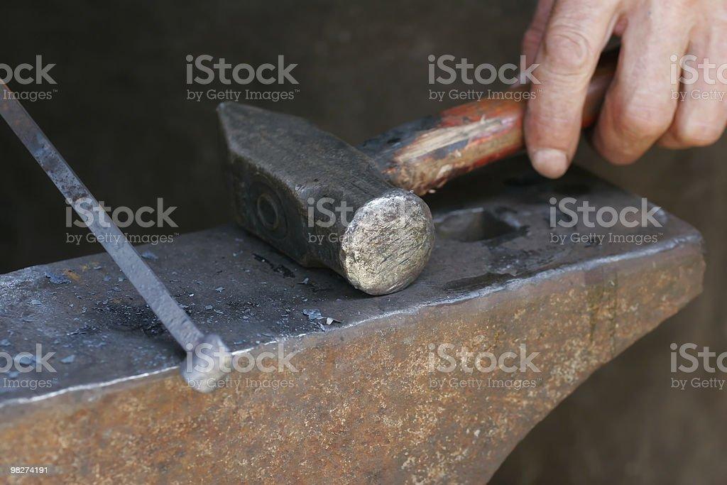 Blacksmith's Tools royalty-free stock photo
