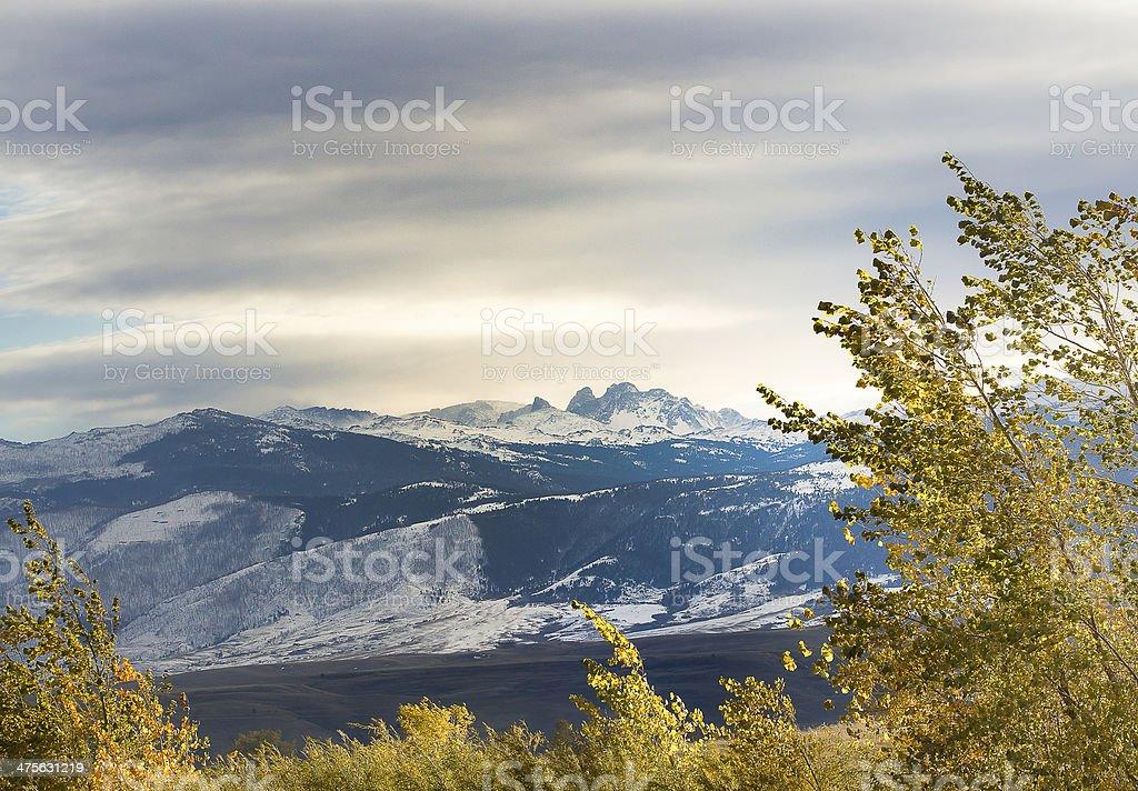 Blacktooth Mountain stock photo