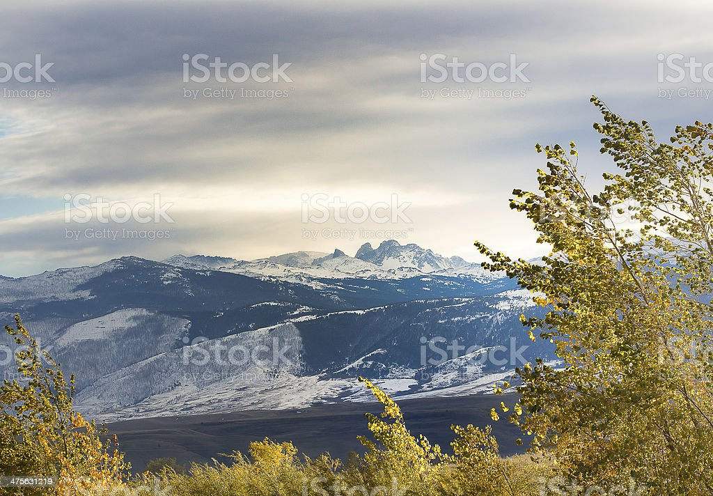 Blacktooth Mountain stock photo