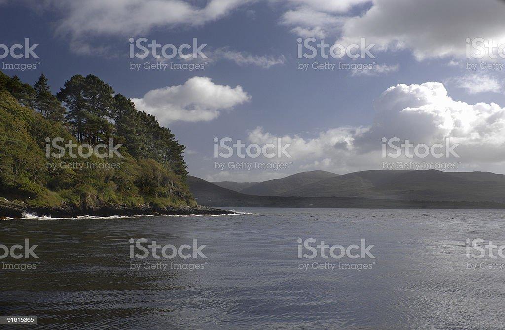 Blackwater, County Kerry stock photo