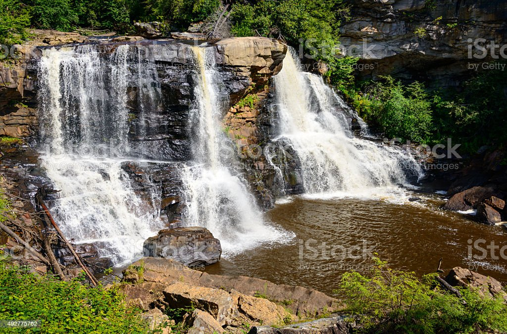 Blackwater Falls State Park stock photo