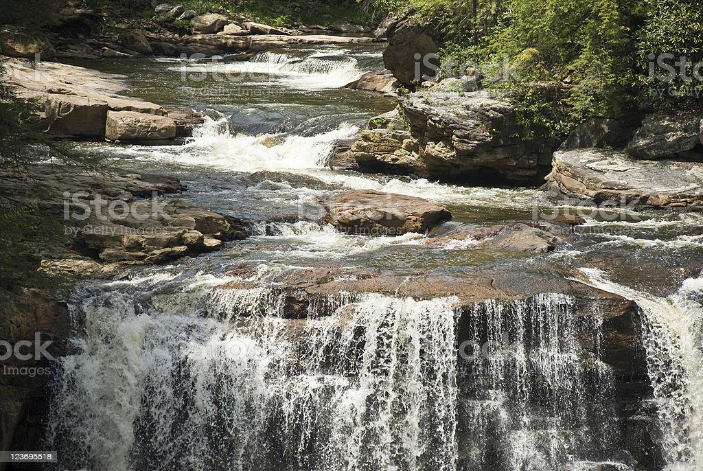 Blackwater Falls, West Virginia stock photo