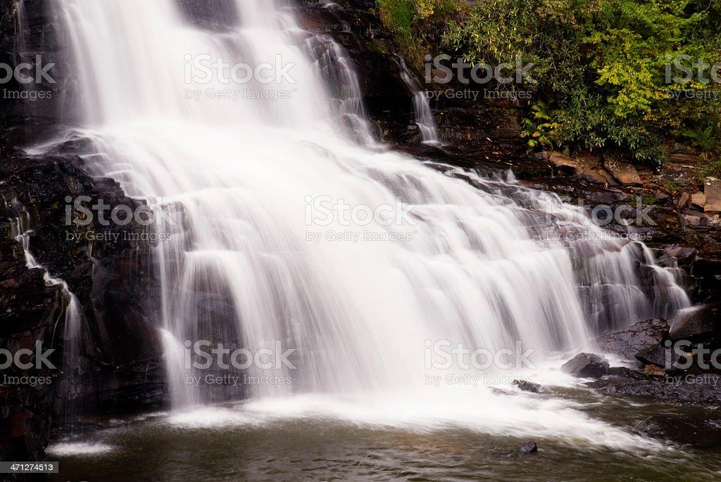 Blackwater waterfalls royalty-free stock photo