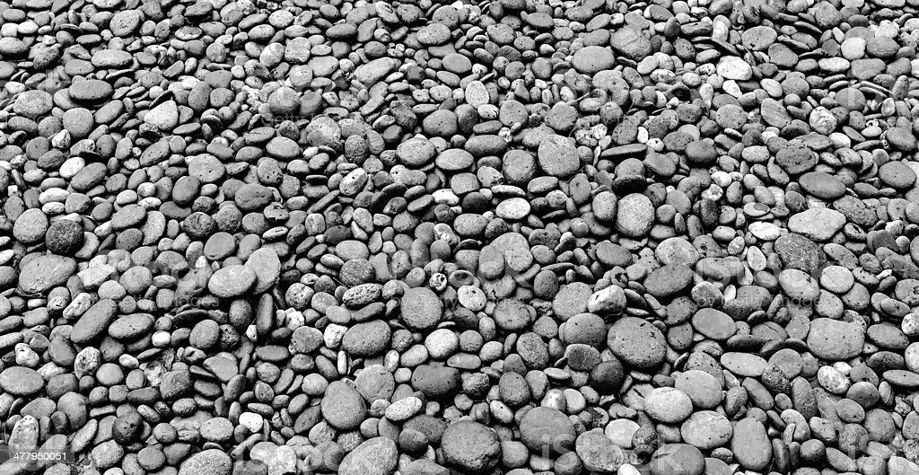 black & weißem Stein-Struktur Lizenzfreies stock-foto