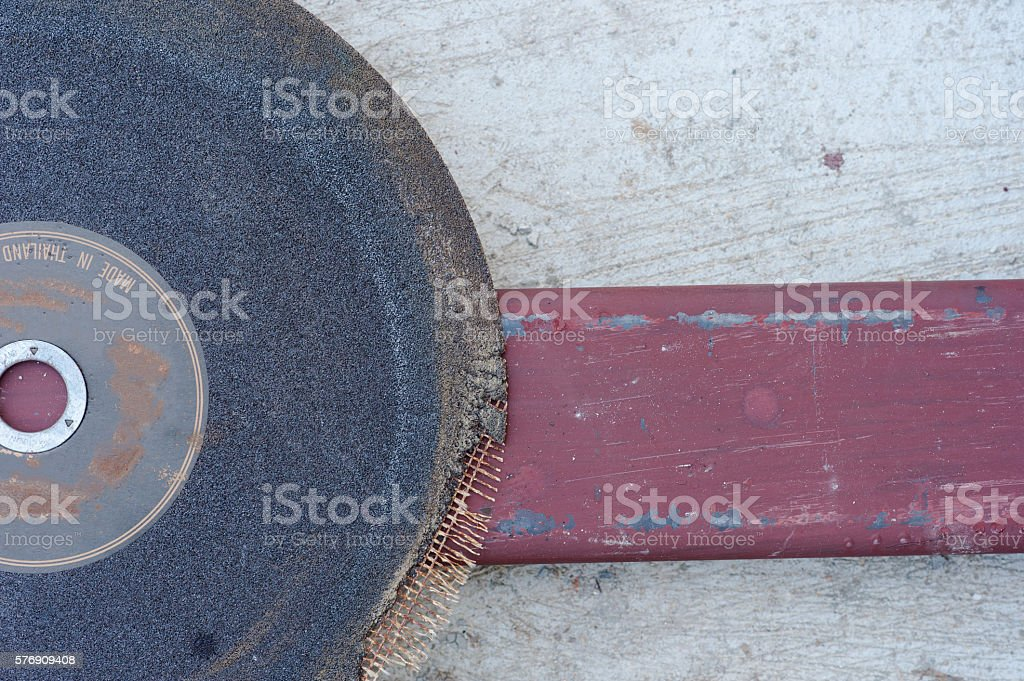 blade and steel bar stock photo