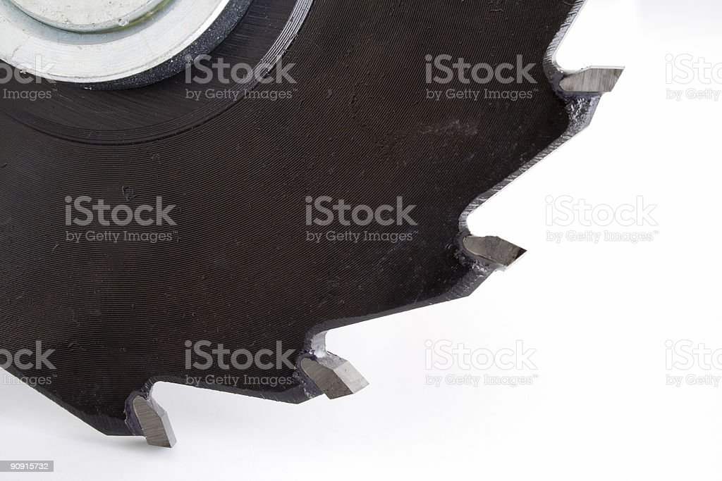 Blade close-up stock photo