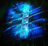 blade storage supercomputer of data center with splash