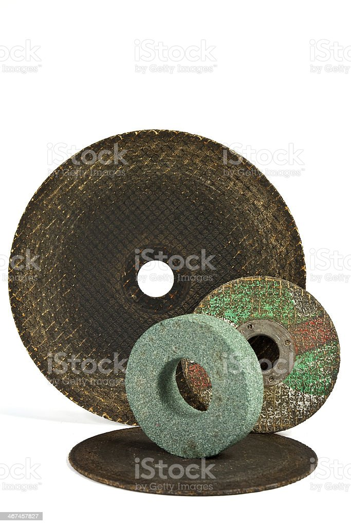 Blades for cutting metal stock photo