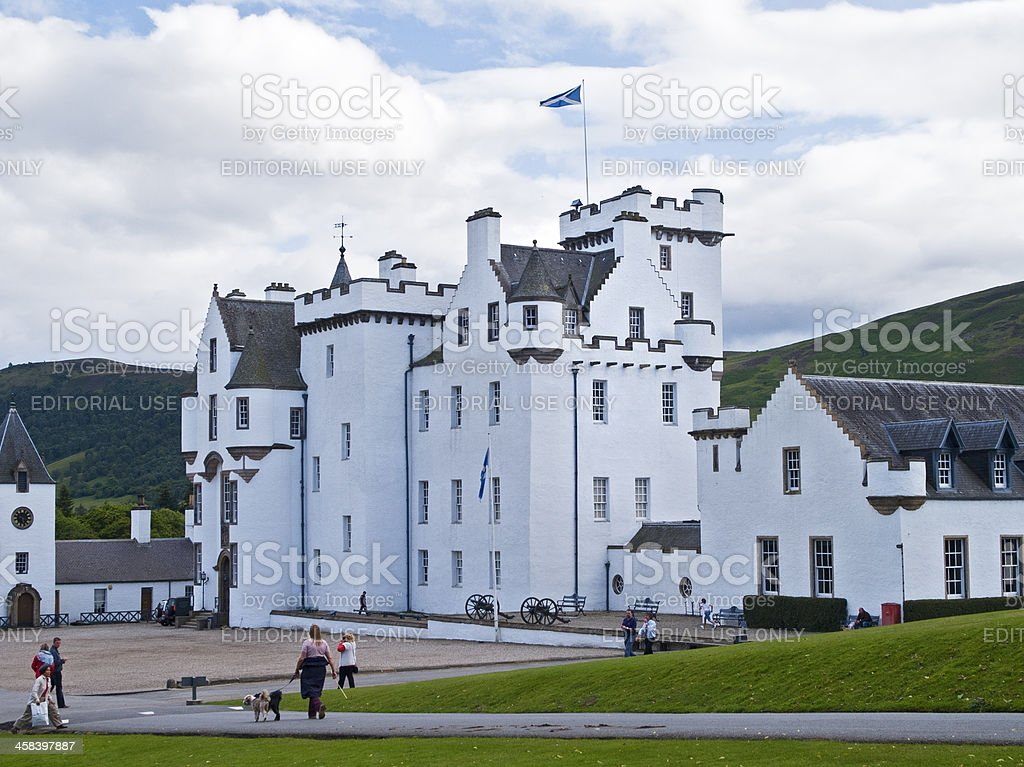 Blair Castle royalty-free stock photo