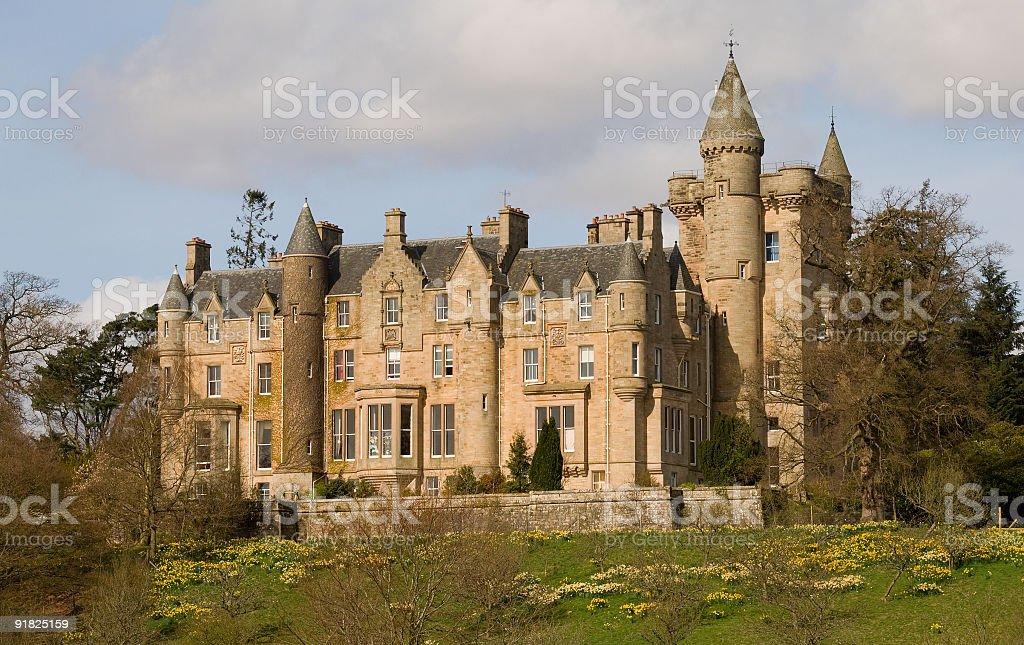 Blair Drummond House, Near Stirling, Scotland. stock photo