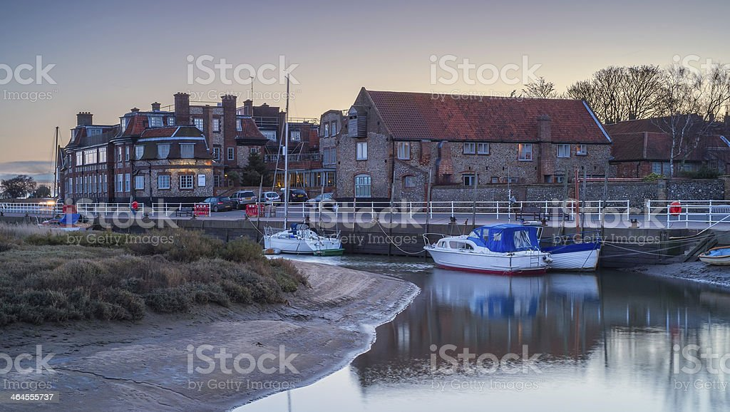 Blakeney stock photo
