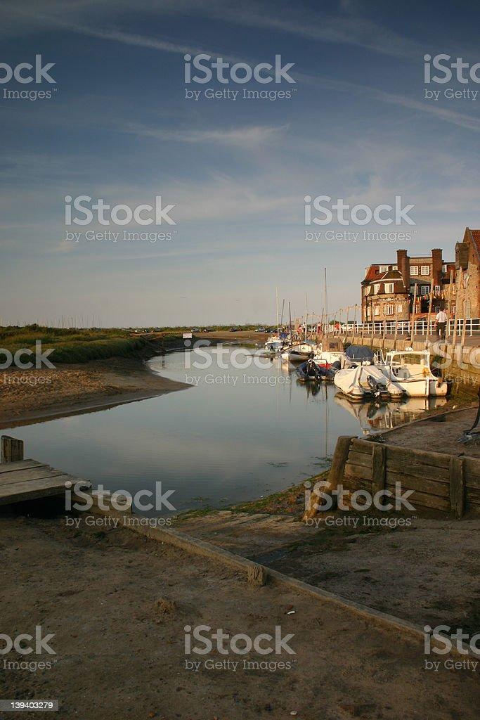 Blakeney Village, Norfolk, United Kingdom stock photo