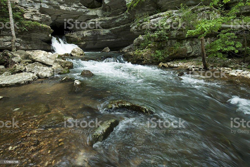 Blanchard Spring stock photo