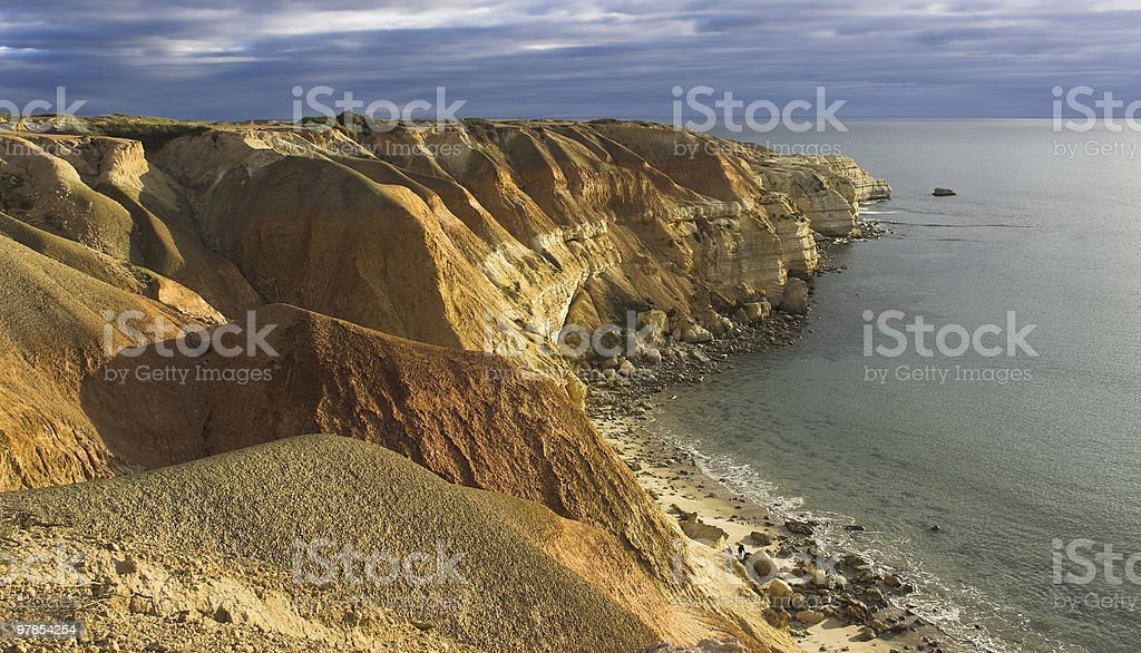 Blanche Point Maslin Beach South Australia stock photo