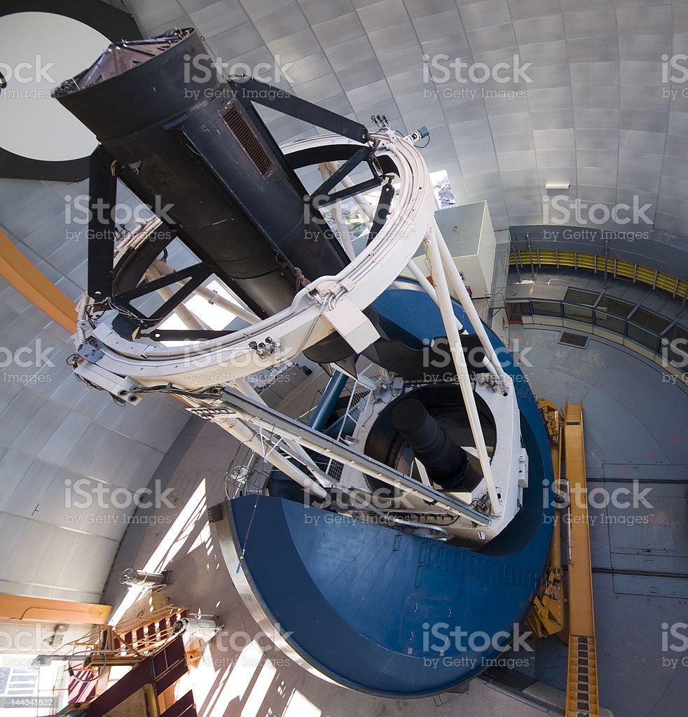 Blanco 4-m Telescope at Cerro Tololo Inter-American Observatory, Chile stock photo