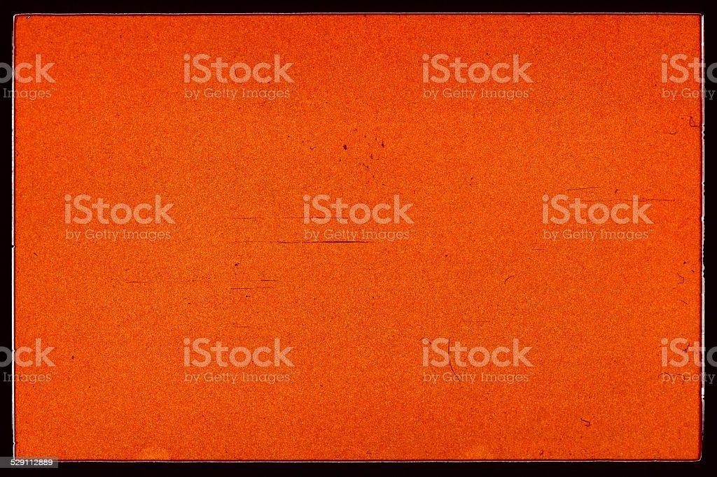 Blank 35 mm film negative stock photo