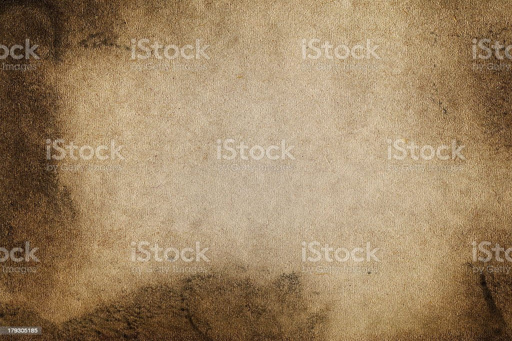 Blank Aged Paper royalty-free stock photo