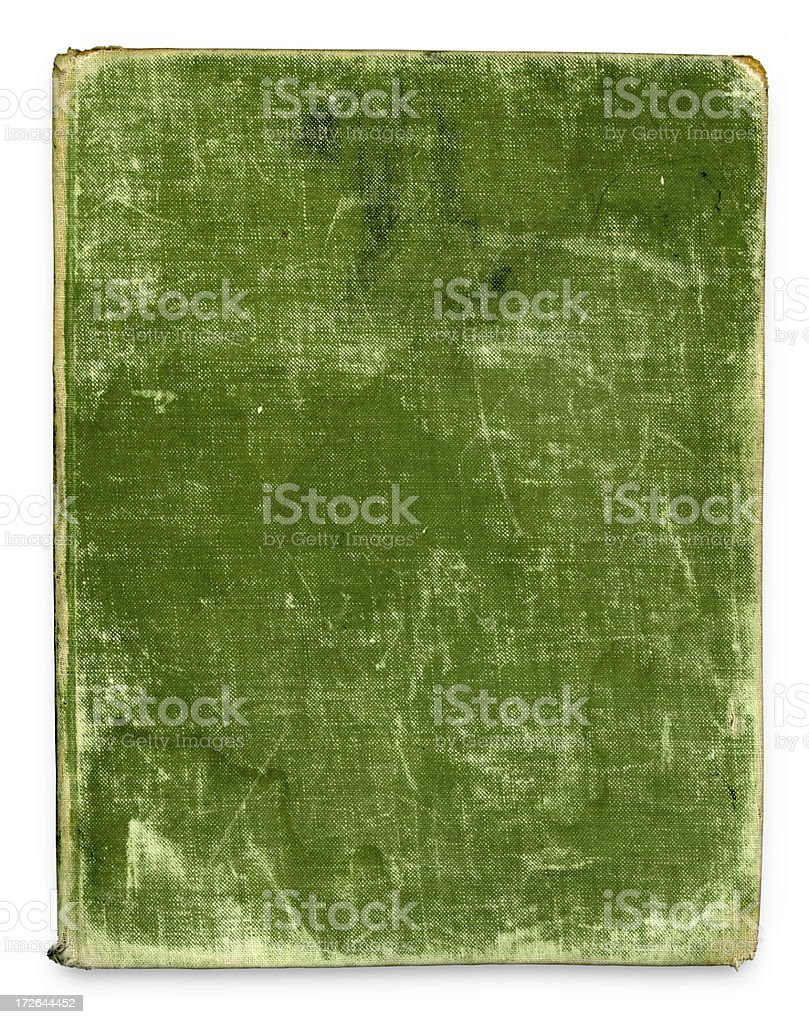 Blank Antique Book Cover (high resolution) royalty-free stock photo
