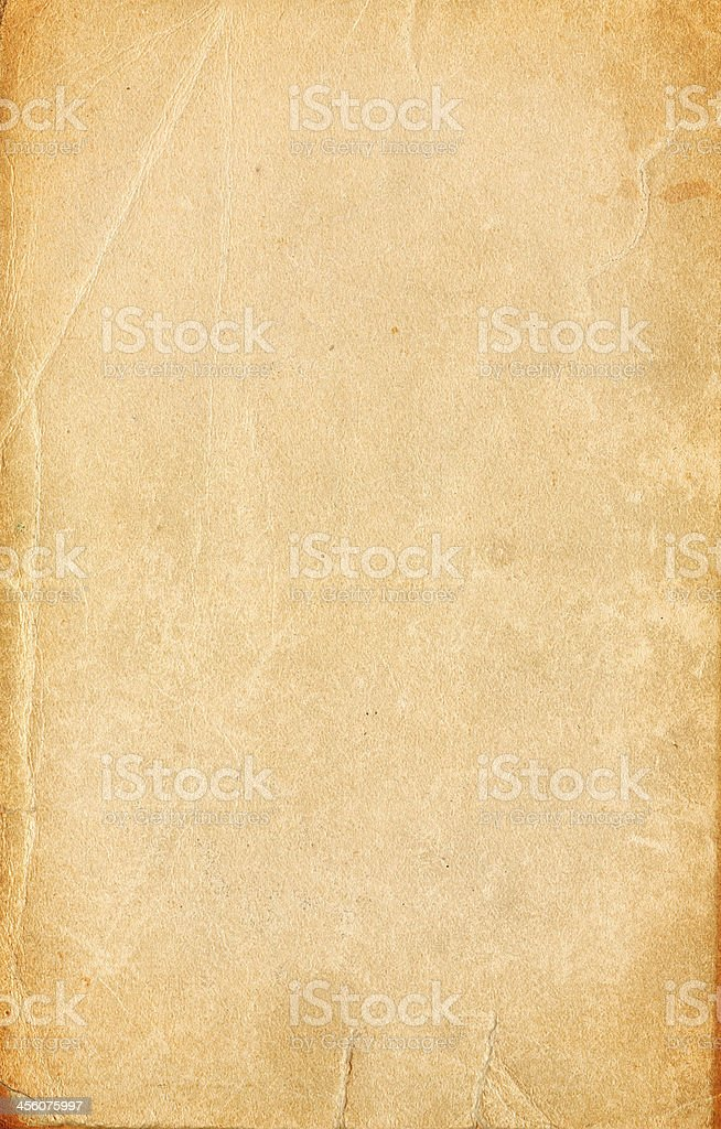 Blank antique paper stock photo