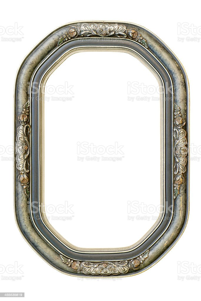 Blank Antique Picture Frame royalty-free stock photo