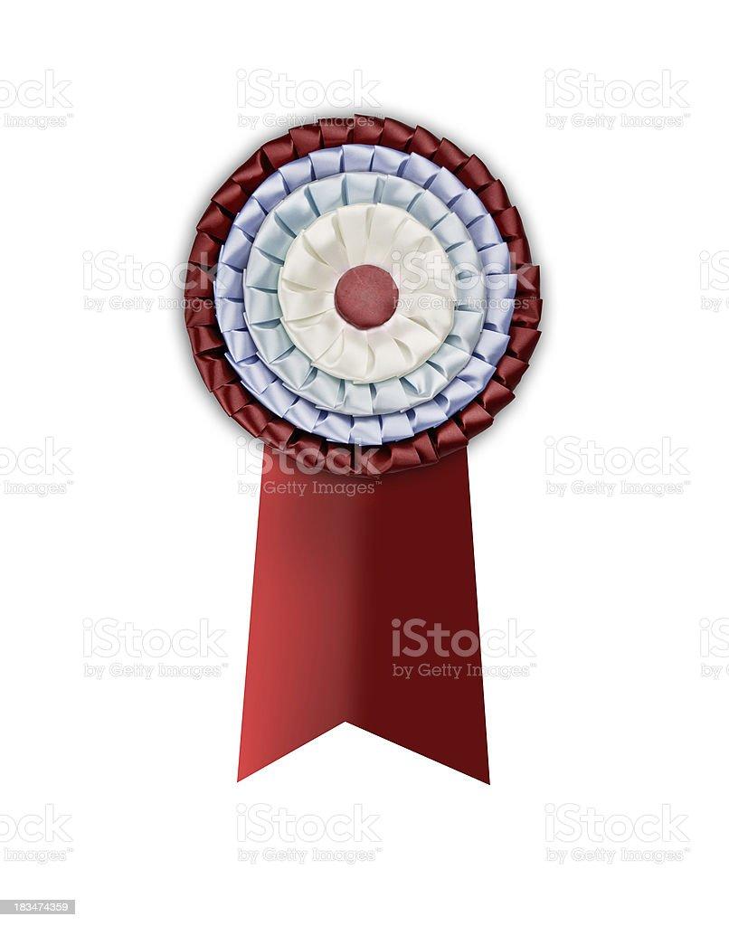 Blank award stock photo