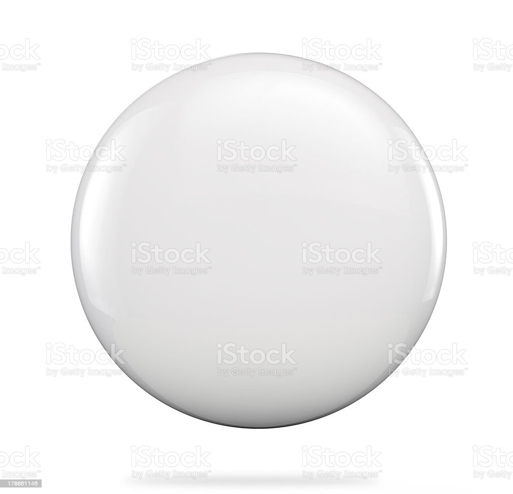 Blank badge stock photo