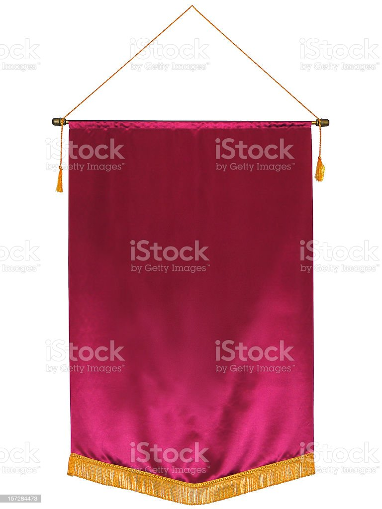 Blank Banner royalty-free stock photo