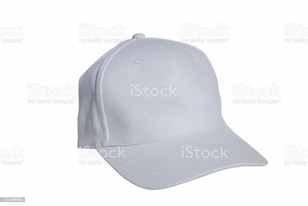 Blank Baseball Cap stock photo