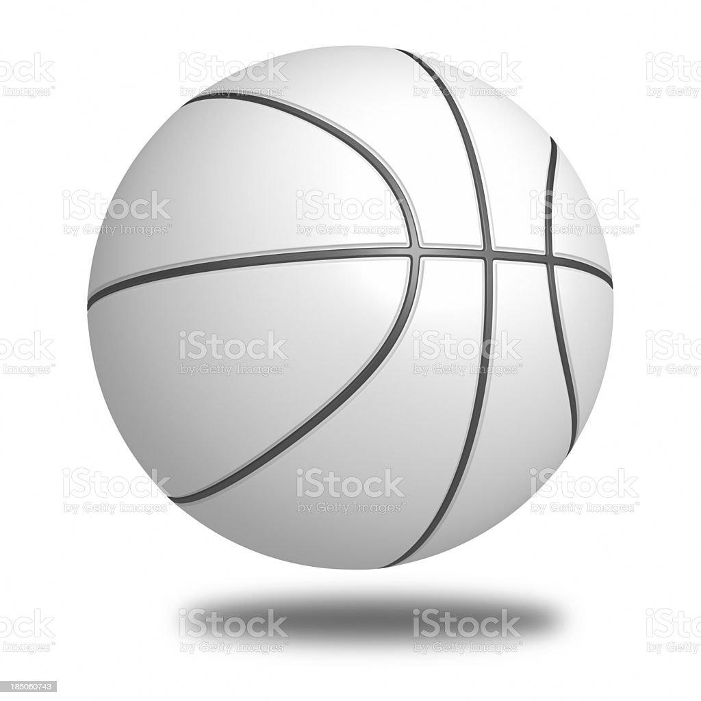 blank Basketball stock photo