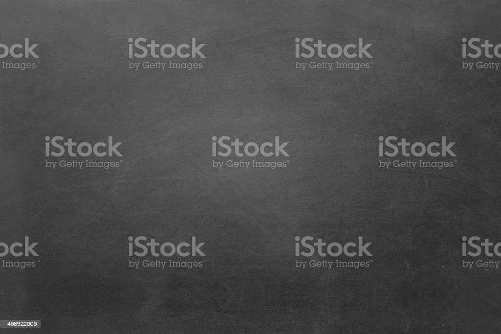 Blank black chalkboard background stock photo