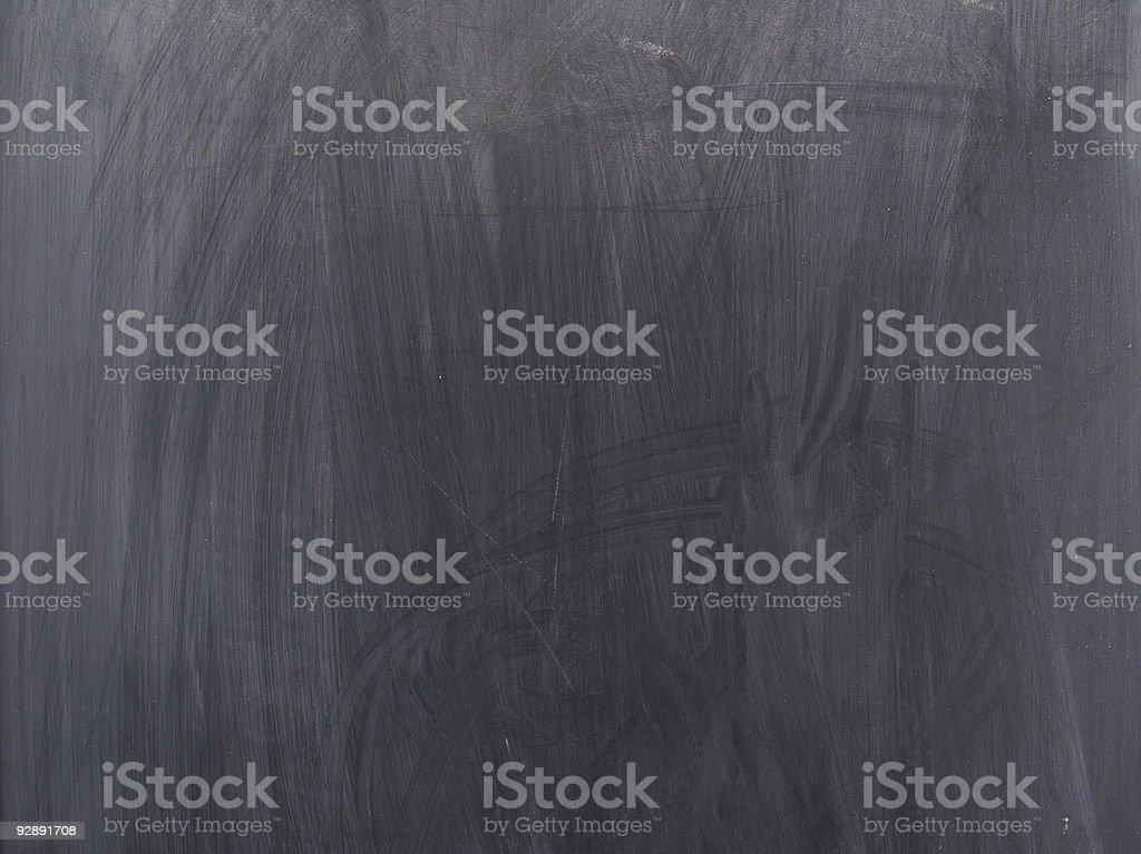 Blank Black Chalkboard royalty-free stock photo