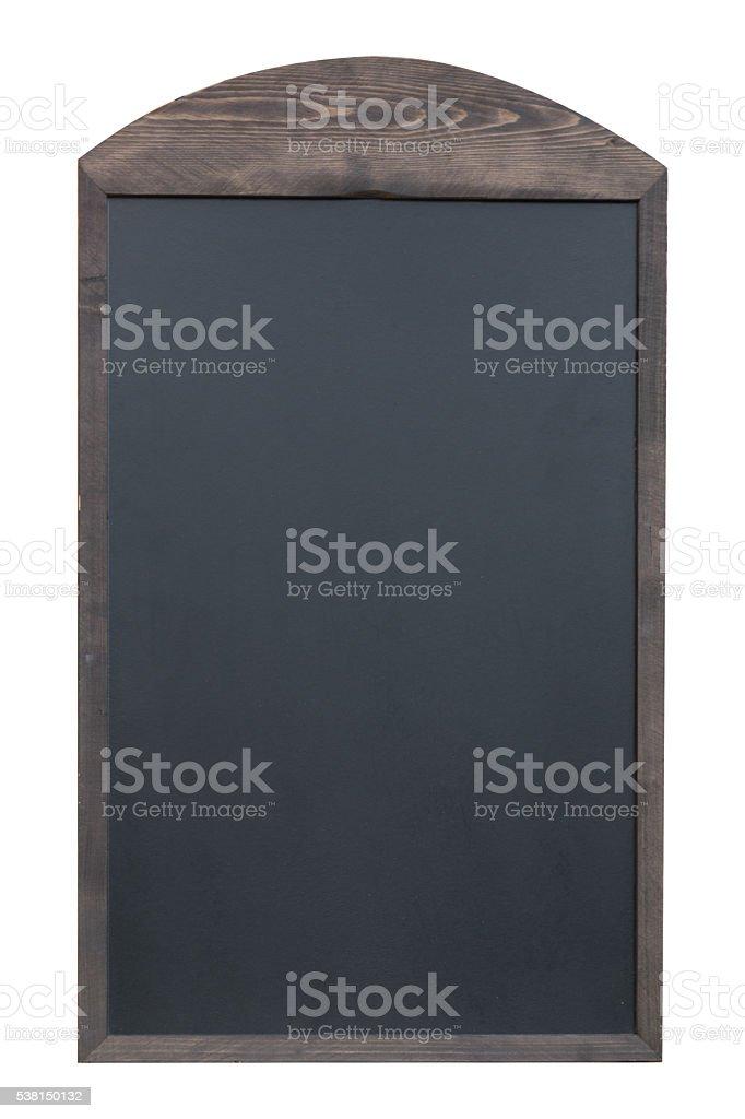 Blank blackboard isolated stock photo