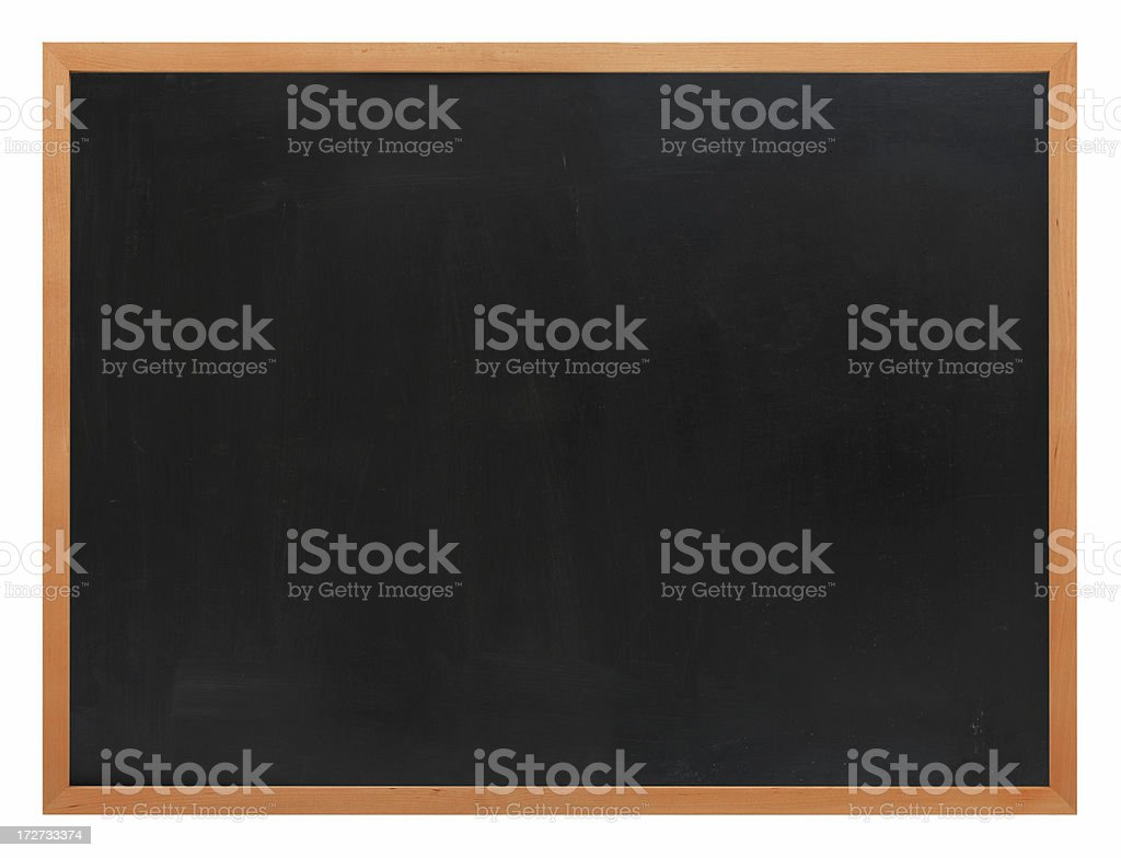 Blank Blackboard royalty-free stock photo