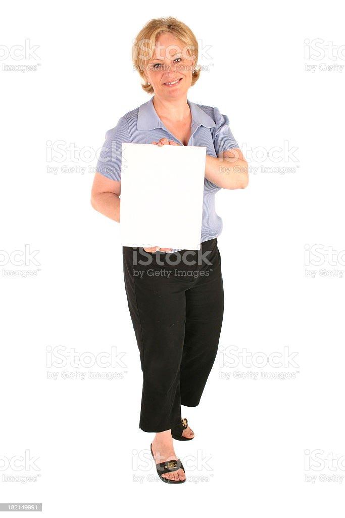 Blank  board (1) royalty-free stock photo