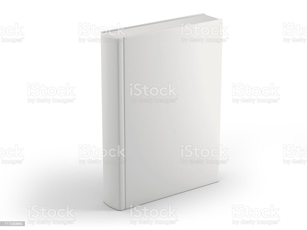 blank book cover royalty-free stock photo
