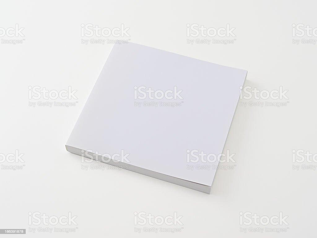 Leere Buch auf weißem zurück ground.Clipping Pfad enthalten. Lizenzfreies stock-foto
